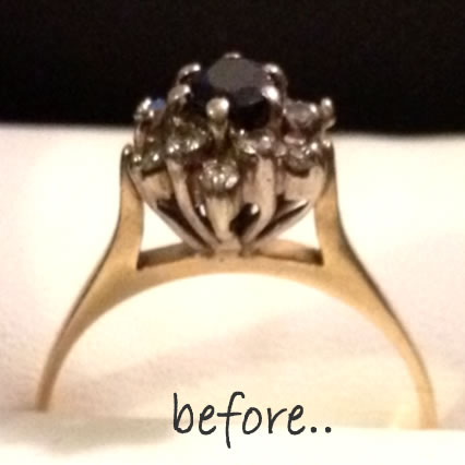 antique rings sunshine coast - jewellery remodelling