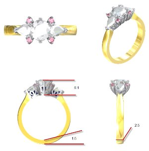 jewellery designer Sunshine Coast - custom jewellery Hervey Bay