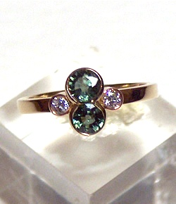 diamond rings Sunshine Coast - hand crafted jewellery Caloundra