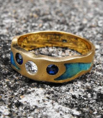 diamond rings Sunshine Coast - hand crafted jewellery Hervey Bay