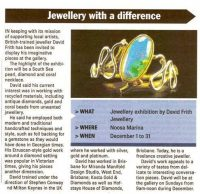 jeweller Sunshine Coast - master jeweller Noosa