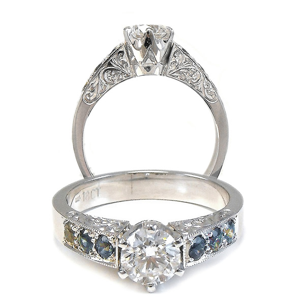 diamond rings Sunshine Coast - hand crafted jewellery Tewantin
