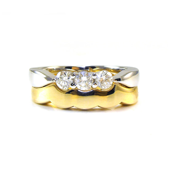 handmade wedding rings Sunshine Coast - custom engagement rings Coolum